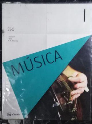 libro de musica para 1° de la eso