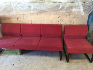Sofa 3 plazas + sillón