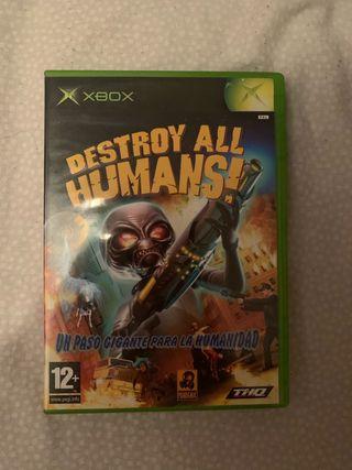 Destroy all humans pal esp xbox