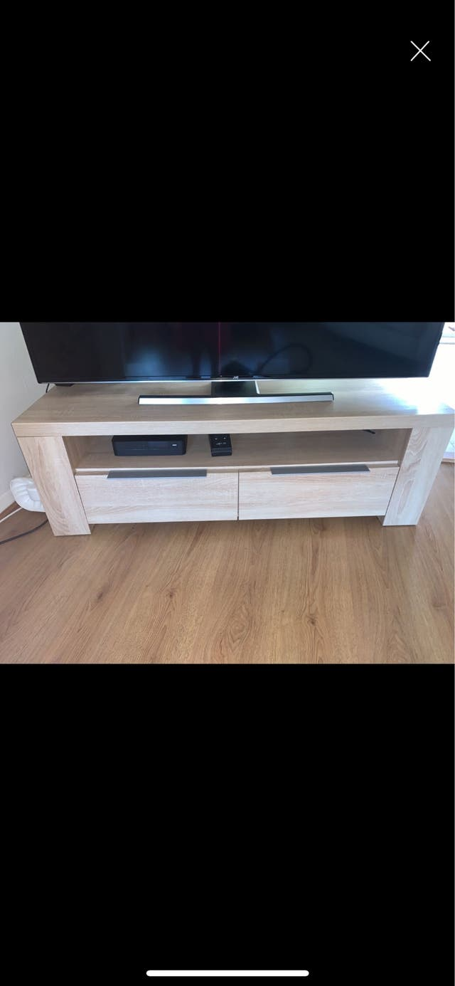 Tv console cabinet stand