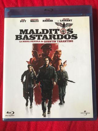 "DVD BLU-RAY DISC ""Malditos Bastardos"""