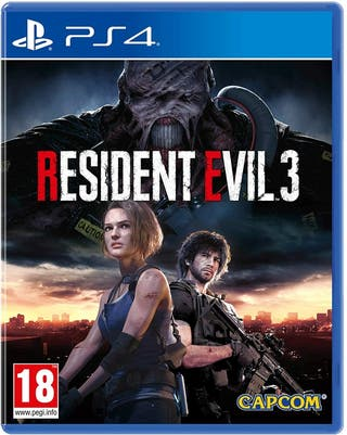 RESIDENT EVIL 3 REMAKE PS4 NUEVO