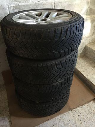 Llantas BMW con neumáticos de invierno