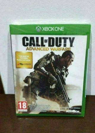 videojuego nuevo precintado xbox one call of duty