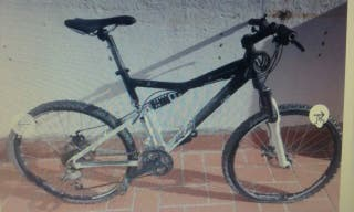 Bicicleta 26 pulgadas DECATHON frenos de disco