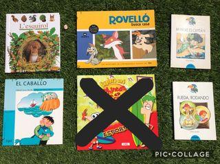 Pack libros y cuentos de P5, 1º y 2º