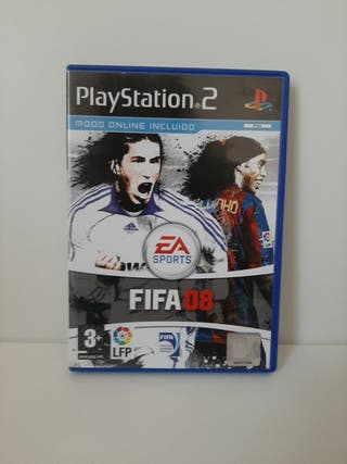 FIFA 08. Completo. PlayStation 2.