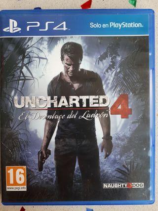 UNCHARTED4 PS4 - Sin estrenar