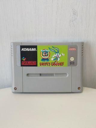 juego busts loose en perfecto super Nintendo