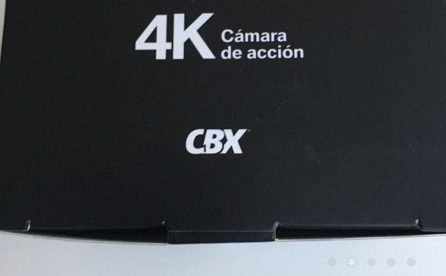 CÁMARA DEPORTIVA DE ACCIÓN 4K.