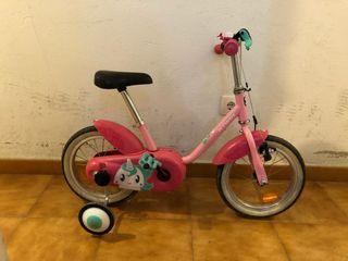 Bicicleta para niños/as de 14 pulg