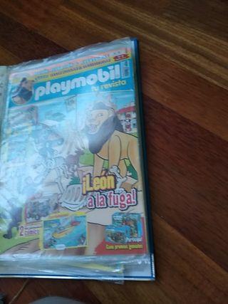 20 comics/revistas Playmobil