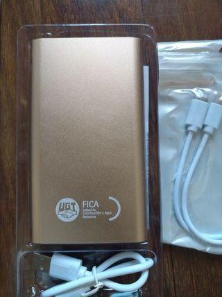Batería externa 5000 mAh nueva