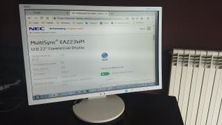 Monitor PC, NEC MultiSync EA223WM, 22