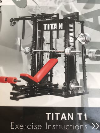 MÁQUINA TITAN T1 fitness