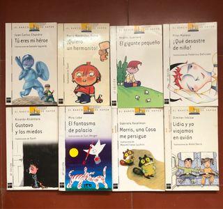 Libros infantiles El Barco de vapor.Varios titulos