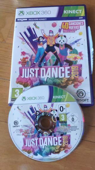 Just dance para Xbox 360 kinetic