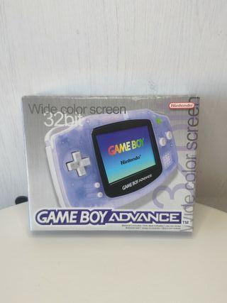 consola Nintendo Game boy advance con caja