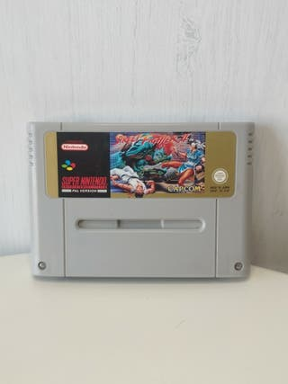 juego street fighter II de super Nintendo Pal esp