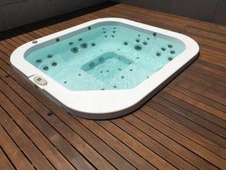 Mini-piscina Jacuzzi Santorini Pro