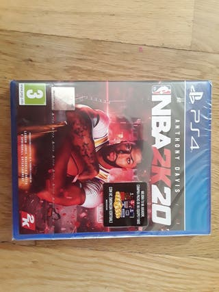 juego PS4 NBA2K20 (sin abrir)