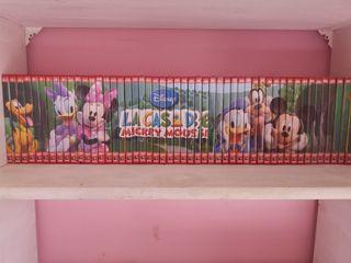colección DVD la casa de Mickey mouse