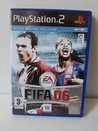 FIFA 06. Completo. PlayStation 2.