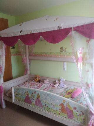 cama de princesa exclusiva