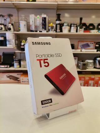 DISCO DURO PORTABLE SSD T5 500GB