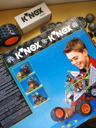 K'nex All Terrain Trekker, 3 modelos en 1.