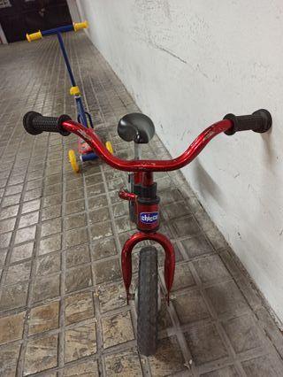 Bicicleta aprendizaje Chicco