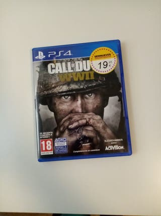 PS4 Play Station 4: CALL OF DUTY WWII