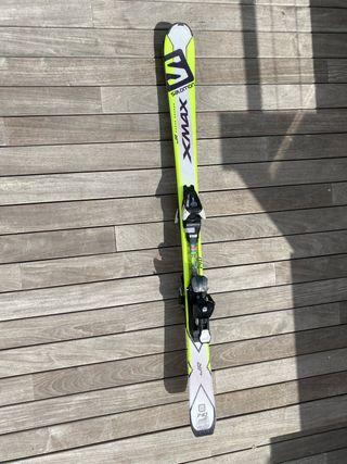 Esquís Salomon JUNIOR carve rock 140cm