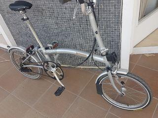 Brompton bicicleta plegable