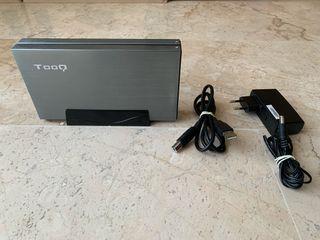Disco duro SAMSUNG HDD 500 GB y caja SATA_USB 3.0
