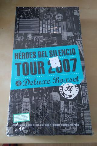 Héroes del silencio tour 2007 Deluxe boxset