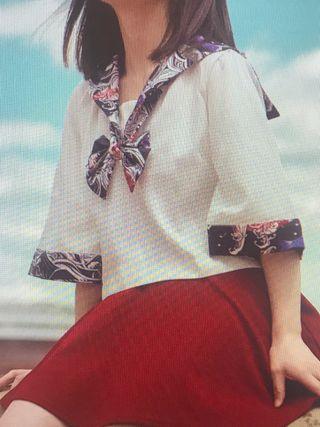 Sailorfuku uniforme japonés camisa
