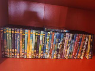 colección de dvd películas infantiles