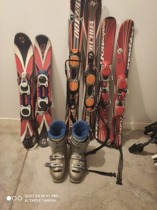 Esquís BIG foot