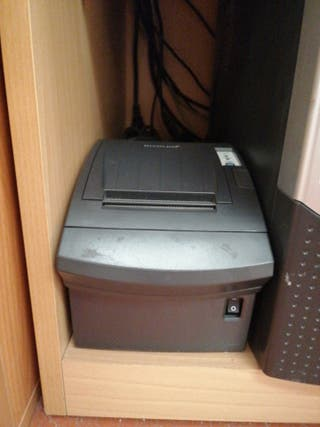 impresora térmica tikets bixolon usb