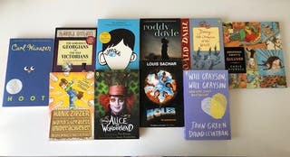 Lote 10 libros en inglés, literatura juvenil.