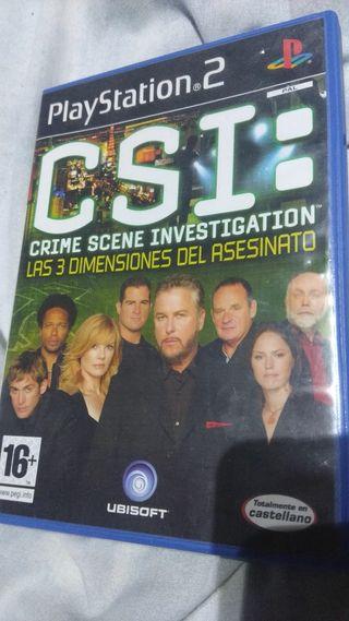 CSI ps2