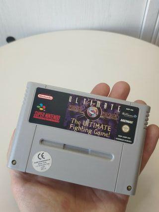 juego ultimate mortal kombat 3 de super Nintendo