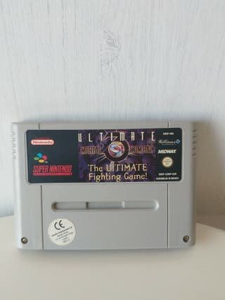 juego ultimate mortal kombat 3 de super Nintendo