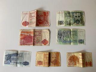 Colección billetes pesetas