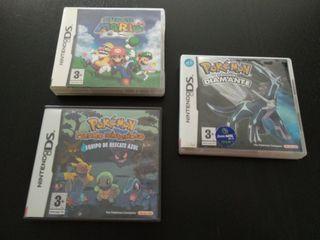 Cajas y manuales Nintendo DS
