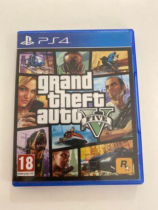 Grand Theft Auto V Five GTA PS4