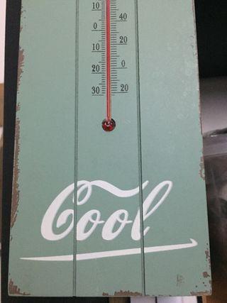 Termometro decoracion vintage 5€