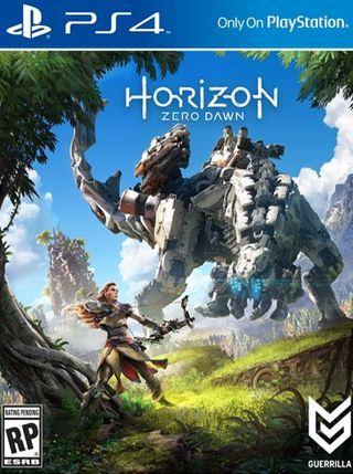 Horizon Zero Dawn standar edicion