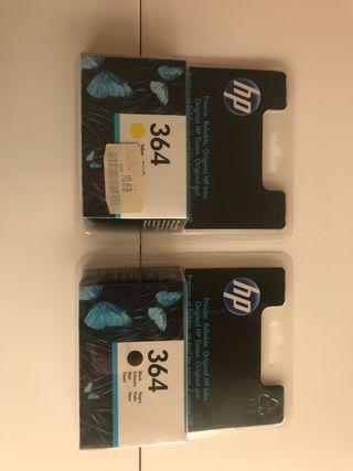2 cartuchos de tinta impresora